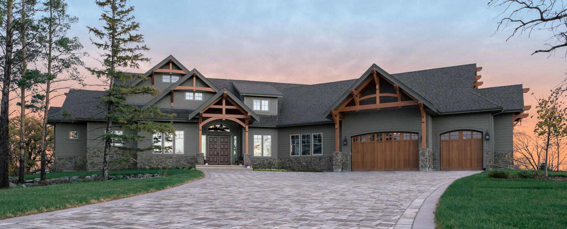 House on the Assiniboine