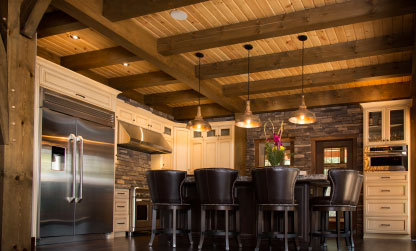Timberframe Kitchen