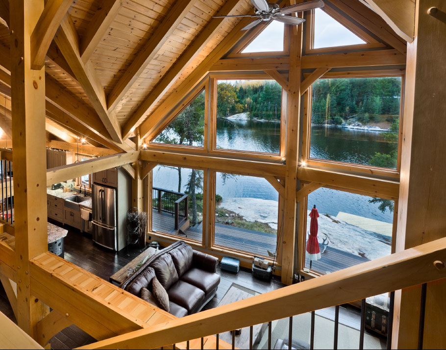 Timberframe Living Space